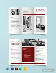 Cleaning Brochure Free Carpet Cleaning Brochure Template Word Psd