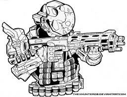 Small Picture Adult halo reach coloring pages Free Halo Reach Coloring Pages