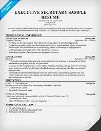 unbelievable sample resume for secretary resumes for secretary examples of secretary resumes