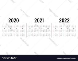 Photo Calander Calendar 2020 2021 And 2022 Template Calendar