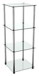 Standregal Wm503 Mit Glas Ablagen Glasregal 11302