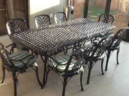wrought iron patio dining table wrought iron outdoor furniture sets home designing wrought iron