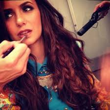 nina dobrev real makeup game makeup vidalondon