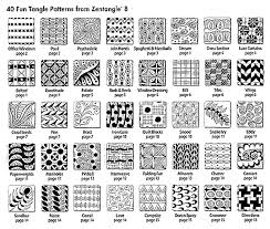 Tangle Patterns Gorgeous Zentangle 48 Monograms Alphabets And 48 New Tangles By Suzanne McNeill