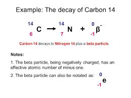 carbon 14 decay equation jennarocca