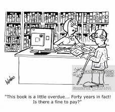 library card cartoon 8 of 14