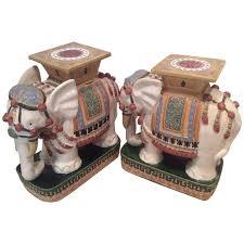 sold elephant garden stands stools