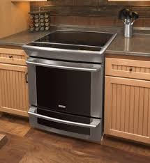 slide in stove regarding awesome electrolux 30 electric range with slide in stove r28