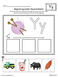 What free phonics worksheets would you like to see? Letter Y Word List With Illustrations Printable Poster Color Myteachingstation Com