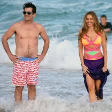 Sofia Vergara in a Swimsuit Filming Modern Family in Sydney | POPSUGAR  Celebrity