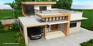4 Storey House Design With Rooftop Kassandra Two Storey House Design With Roof Deck