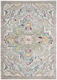 safavieh mystique mys921l grey light blue area rug