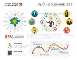 Radar Chart Illustrator Business Plan Radar And Line Charts Template For