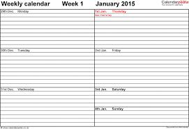 Weekly Meeting Calendar Template Weekly Calendar 2018 Uk Free Printable Templates For Muygeek