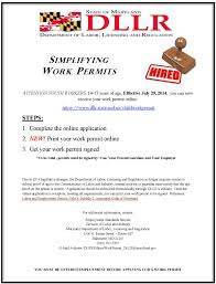 work permits south river high school dllr state md us childworkpermit web content documentation workpermitsdllrposter