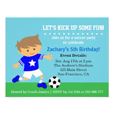 Soccer Party Invitation Template Personalized Soccer Party Invitations Custominvitations4u Com