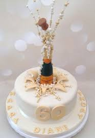 Popping Champagne Corks 60th Birthday Cake Cake Desserts In 2019