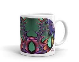 MICROCOSMOS Artistic Cosmos Devarshy Ceramic Printed Coffee Mug PF   5198