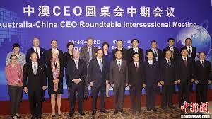 vice premier yang has met australia s prime minister tony abbott at the australia china