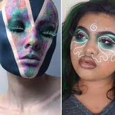 these instagram muas cover their entire faces in makeup just like face painting