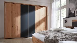 Interliving Schlafzimmer Serie 1004 Schwebetürenschrank Alteiche