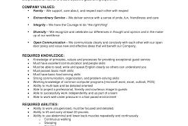 Bar Server Sample Resume Formal Resume Template
