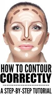how to contour your face correctly a step by step guide