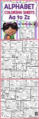 Alphabet Coloring Sheets Alphabet Letters School And Activities