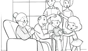 coloring pages family coloring pages of a summertime at the funfair page colouring families awesome