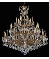 nice schonbek crystal chandelier applied to your house idea