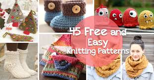 Free Easy Knitting Patterns Delectable How To Knit 48 Free And Easy Knitting Patterns Cute DIY Projects