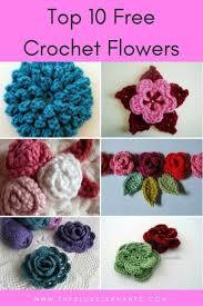 Crochet Flowers Pattern Interesting Decorating