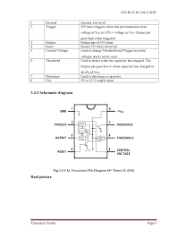 transister tester project report circuit diagram 7