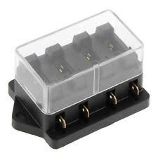 mini fuse block brand new mini car boat auto 12v 4way circuit fuse box block holder