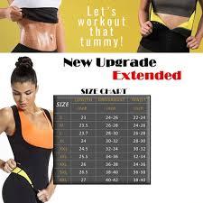 Neoprene Sweat Sauna Hot Body Shapers Vest Waist Trainer Slimming Vest Shapewear Weight Loss Waist Shaper Corset Vova