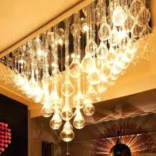 glass drop chandelier flush mount glass drop crystal