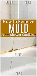 How to caulk shower Pan How To Get Rid Of Mold In Caulking Remove Mold In Bathroom Bathtub Shower Caulk Cleaning Tip Trick Hacks For Moldly Caulking In Bathroom Labellecuisineinfo How To Get Rid Of Black Mold In Your Shower Caulking Diy Cleaners