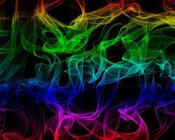 1280x1024 Abstract Rainbow Smoke ...