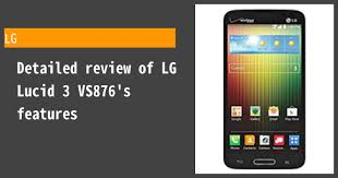 LG Lucid 3 VS876 - Features and reviews ...