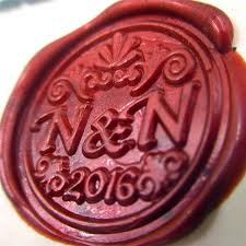 DIY double letter Initials customize your logo Name Box set personalized Letter Sealing Wax wedding Wax 640x640