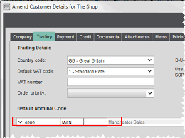 Using Cost Centres And Departments With Nominal Accounts