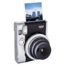 <b>Fujifilm Instax Mini</b> 90 Neo Classic Instant Film Camera - <b>Black</b>/ Gray ...