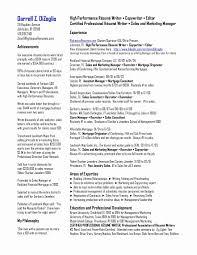 Capital Market Resume Sample Unique Professional Summary Resume