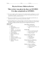 Mid term review questions2011 answer key