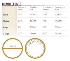 Bracelet Sizing Please Refer To Our Bracelet Sizing Chart