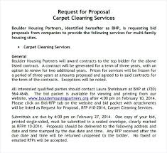 Free Bid Proposal Template Downloads – Findspeed