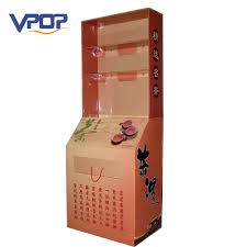 Tea Bag Display Stand Inspiration China Cardboard Display Tea Bag Floor Pop Shelf Stand Display