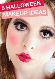 is closer then you think start thinking about your costume makeup with these great ideas