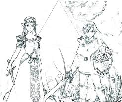 Legend Of Zelda Coloring Pages Coloring Pages Legend Of Coloring