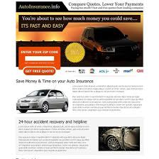inspirational 19 best auto insurance landing page design images on